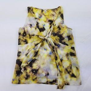 J. Crew Factory 6 Shell Cami 100% Silk White 312